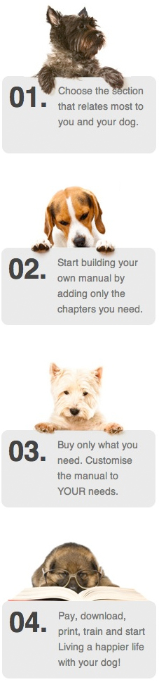 build a dog training manual